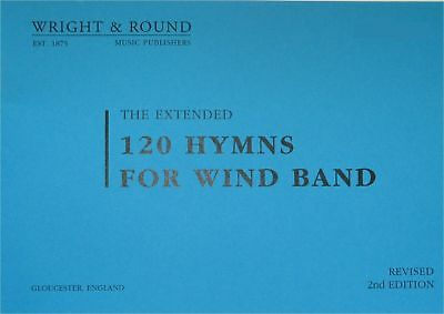 120 Hymns For Wind Band Sheet Music Parts A5 Standard Various Instruments*NEW*