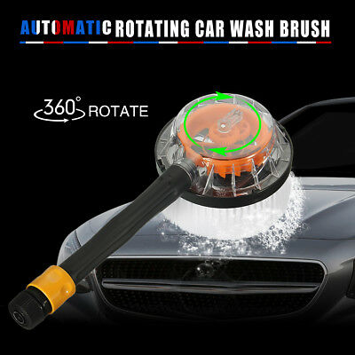 Wash Rotation Auto Car Truck Vehicle Rotating Cleaning Brush Household Cleaner