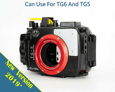 Olympus TG-5 SeaFrogs New Version Underwater Housing ~Free Shipping~