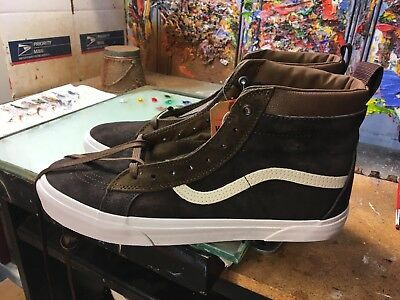 6c784d7ba70 Vans SK8-Hi MTE Dark Earth Seal Brown NIB Size US 11.5 Men s VN0A33TXQWW