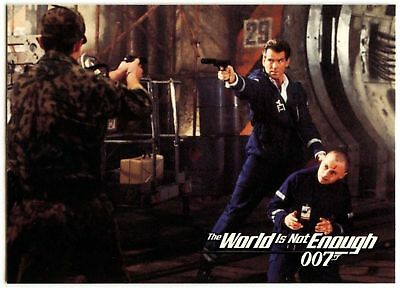 ..But You Can't#33 The World Is Not Enough 1999 James Bond 007 Trade Card(C1158)