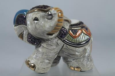 DeRosa Rinconada Family Collection Baby 'Indian Elephant' #F308 New in Box