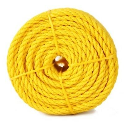 "Rope Products 3/8X2500YP 3/8"" x 2500 foot yellow poly rope"