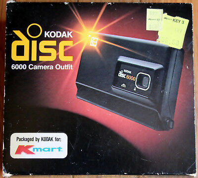 Vintage Kodak 6000 Disc Camera With Box and Manual