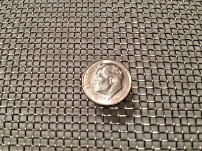 """Stainless Steel Wire Mesh - Woven Wire 304 #10 .025 Wire Cloth Screen 12"""" x 12"""""""