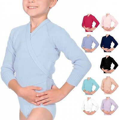 Girls / Ladies Ballet Dance Cardigan - 10 Colours  - UK STOCK - Fast Delivery