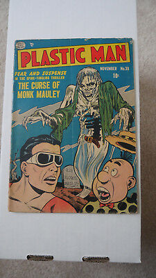 Plastic Man #38 (Nov 1952, Quality Comics) Great Copy!
