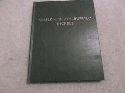 Shield-Liberty-Buffalo Coins Whitman Album # 9206, 1958. Impeccable.