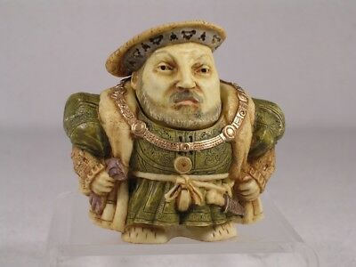 Harmony Kingdom/Ball Pot Bellys / Belly 'King Henry VIII' #PBHH8 New In Box