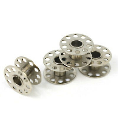 New 40pcs Sewing Machine Bobbins Stainless For Household Singer 15 Class P3A4