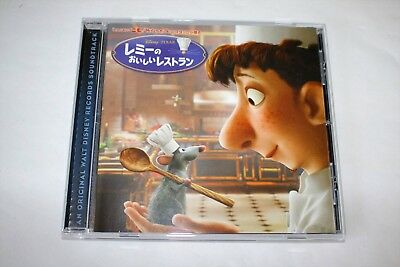"Michael Giacchino ""Ratatouille"" Pixar Original Soundtrack Japan CD Free Shipping"