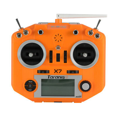 2018 NEW FrSky ACCST Taranis Q X7 2.4GHz 16CH Transmitter Blue Orange Gift