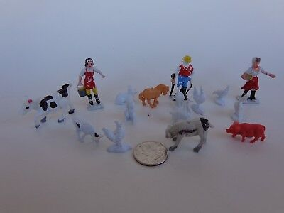 All Kinds Of Miniature People And Farm Animals