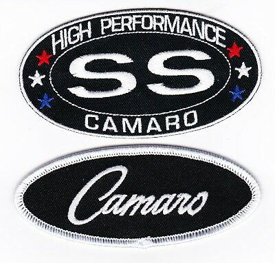 Chevy Ss Camaro Sew/iron On Patch Emblem Badge Embroidered Hot Rod Car