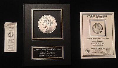 "(1985) ""The Dr. Jerry Buss Collection of U.S. Coins"". Hardbound w/price list."