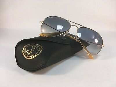 b0a41b34d7c38 New RAY BAN Sunglasses Aviator Gold Blue Gradient Ray-Ban RayBan 3025 001 3F