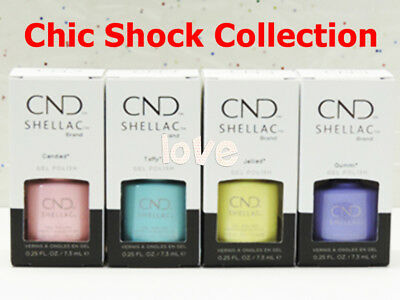 CND Shellac Gel Color 7.3ml/0.25fl.oz CHIC SHOCK Collection /Choose Any Color