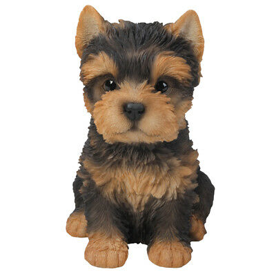 "Yorkshire Terrier Yorkie Puppy Dog Collectible Figurine Miniature 6.25""H New"
