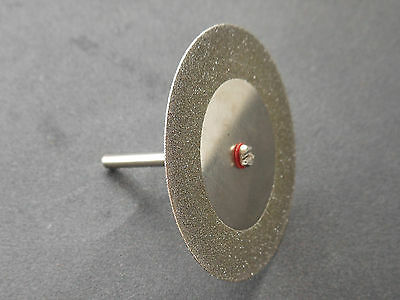 2pcs 45mm MINI Diamond Cutting Discs Fit Rotary Tool Dremel Drills Cut Off