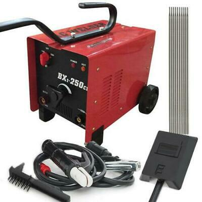 250AMP Inverter Welder IGBT Drawing ARC Welding Electric Machine AC 230V Red