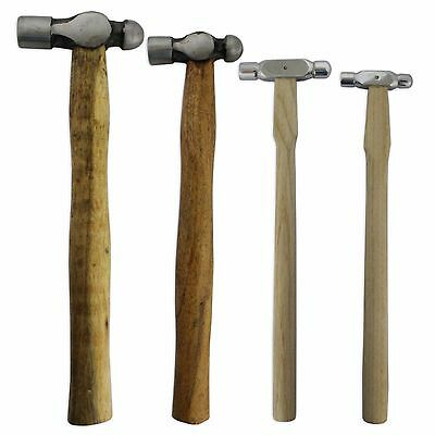 Set 4 Ball Pein Hammers Jewellers Tools Metal Shaping Craft Watch Jeweller Tool