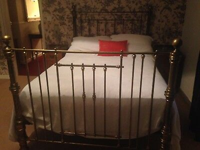 antique brass bed. Antique Brass Bed - Double