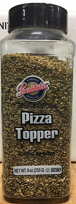 Pizza Topper Sprinkle On Seasoning 9 Oz - Restuarant Kitchen Foodservice Quality