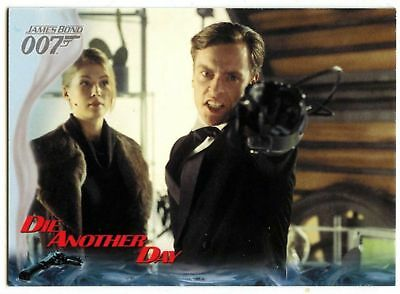 Zao & Graves Together #39 Die Another Day 2002 James Bond 007 Trade Card (C1159)