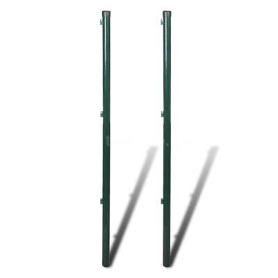 Fence Post 2 pcs 175cm Wire Fencing I4T1