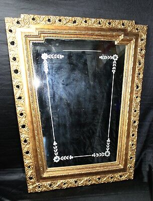 Precioso y antiguo espejo / Beautiful and old mirror