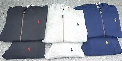 Polo Ralph Lauren Full Tracksuit S/M/L/XL Colours:Blue/Black/Grey In Stock Now!