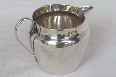 An Exquisite Little Antique Solid Sterling Silver Edwardian Cream Jug Dates 1903