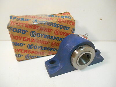 New Royersford 20-02-0103 1-3/16 2 Bolt Type E Pillow Block Bearing