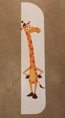 """Geoffrey TOYS R US Display sign.  4ft. Tall  x 10"""" wide Collector item"""