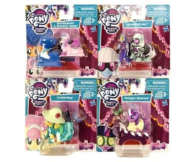4´er Set My Little Pony Friendship Magic Collectable Story B3596AS20
