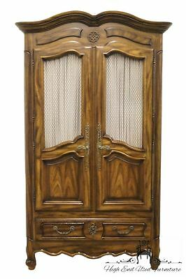 "CENTURY FURNITURE Country French 45"" Clothing Armoire Made in America"