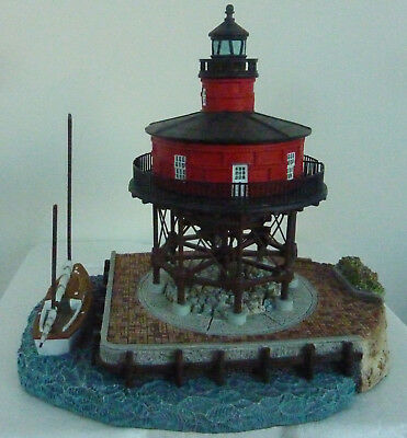Seven Foot Knoll Lighthouse #529-Harbour Lights Society Exclusive-Sequence #6849
