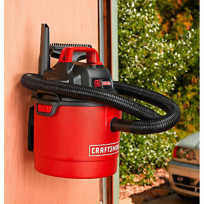 Craftsman Portable Vacuum Cleaner Garage Wet Dry Vac Car Shop Wall Mount 2.5Gal