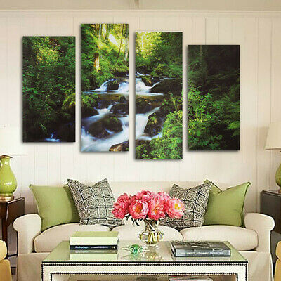 US 3D Modern Art Oil Painting Canvas Art Print Picture Home Room DecorUnframed