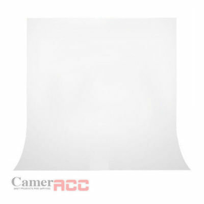 Photography Studio 3 x 1.6 m White Background Backdrop Screen Sheet for Shooting