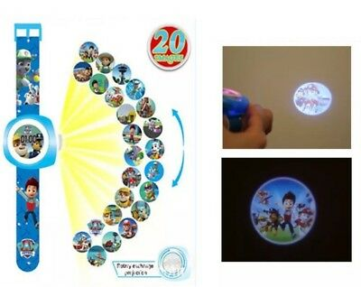 Paw Patrol Projection Watch Digital Wrist Watch Kids Toy Pictures Novelty Gift