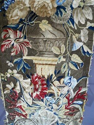 Aubusson  Beauvais tapestry French antique 17th-century for pillows chair