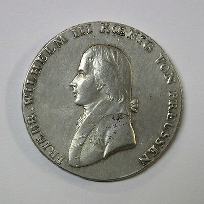 Germany Prussia Wilhelm III 1 Thaler 1802 A Coin Silver UNC