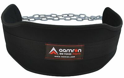Aamron ® Dipping Belt Body Building Weight Lifting Dip Chain Exercise Gym