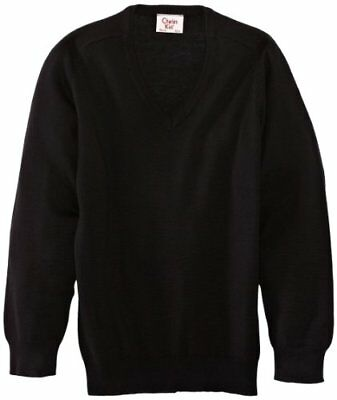 (TG. C36 IN- UK) Nero (Black) Charles Kirk Coolflow - Maglia jumper con collo a