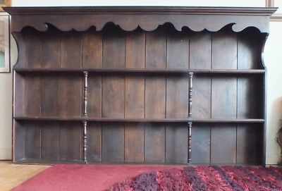 Huge **pair** Solid Oak Arts And Crafts Bookshelves Overall 14.6 Feet In Width