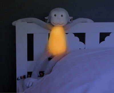 Brand new in pack Zazu night light with melodies soft toy Max the monkey
