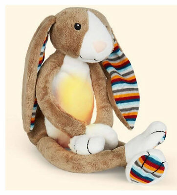 Brand new in pack Zazu night light with melodies soft toy Bo the bunny