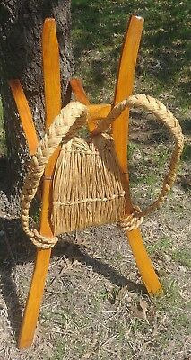 Korean Asian Antique A-frame Backpack (jiggy, jigae, chige) Carrier *VERY RARE*