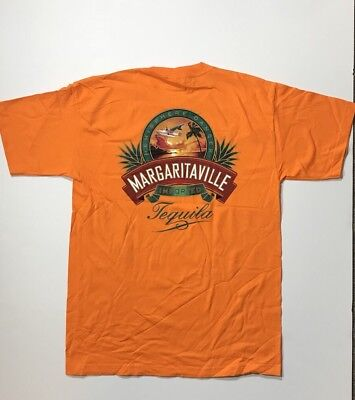 JIMMY BUFFETT MARGARITAVILLE Imported Tequila Hemisphere Dancer Mens Tee  NWOT